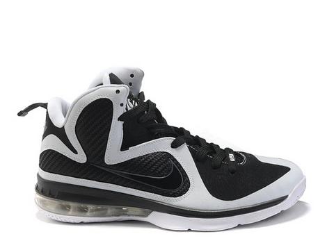 Nike Lebron 9 Freegums Style Code:469764-101 The Nike Lebron 9 Black White