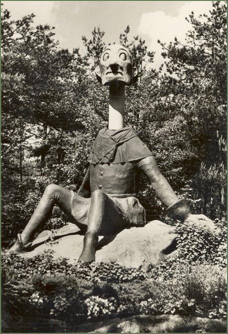 De Efteling Langnek in de jaren 50