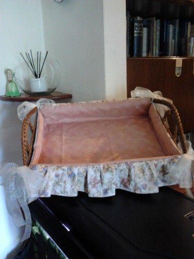 Cestino  mini asciugamani per ospite