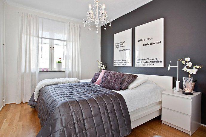 grå säng sovrum - Sök på Google
