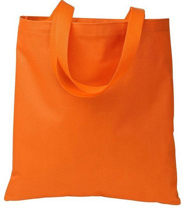 Discounted Polyester Shopping Tote Bag