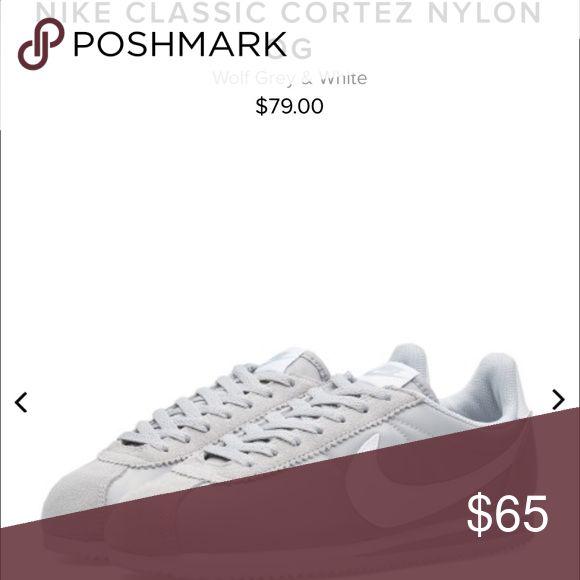 Nike Cortez Light grey Nike Cortez . Men size 7 women size 8.5. Brand new never worn. Nike Shoes Athletic Shoes