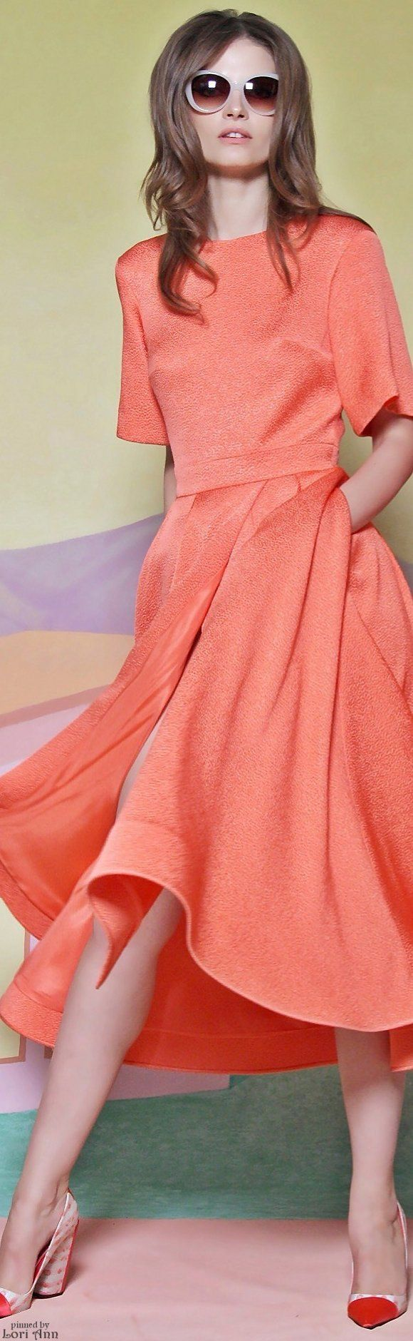Christian Siriano Resort 2016 women fashion outfit clothing style apparel @roressclothes closet ideas