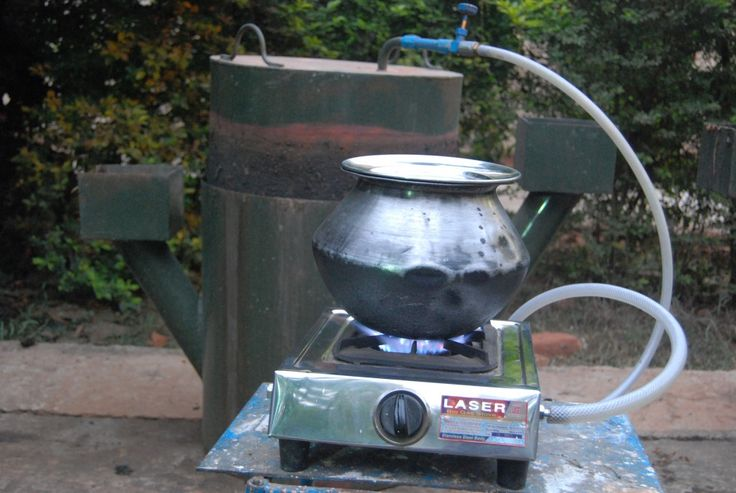 Information on biogas stove designs biogas pinterest for Household biogas plant design pdf