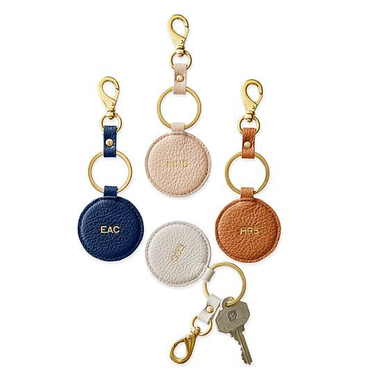 Daily Leather Round Key Fob | Mark and Graham                                                                                                                                                                                 More