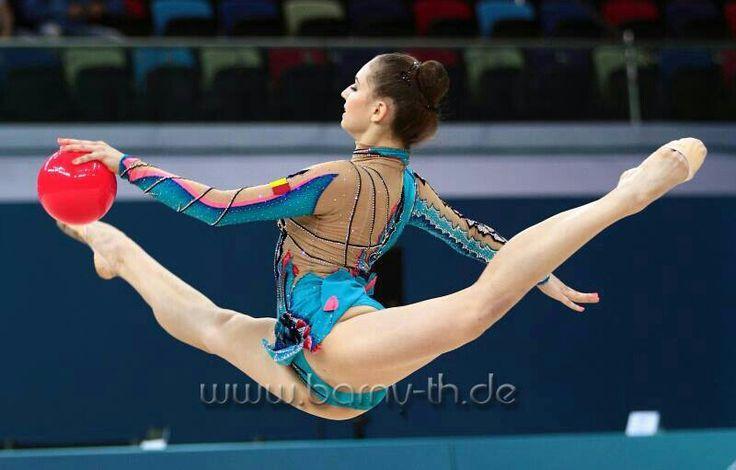 gymnast from Romania # European Championship 2014 in Baku, Azerbaijan # June 2014