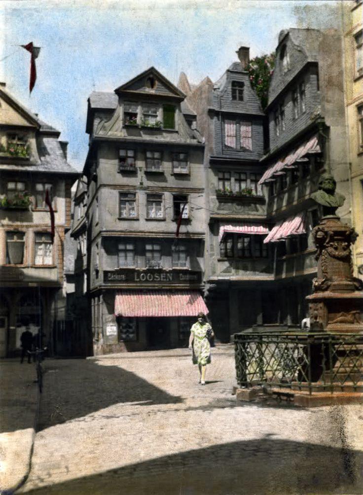 Das alte Frankfurt - Ansichten, Postkarten, Bildvergleiche, historische Gebäude - Page 5 - SkyscraperCity