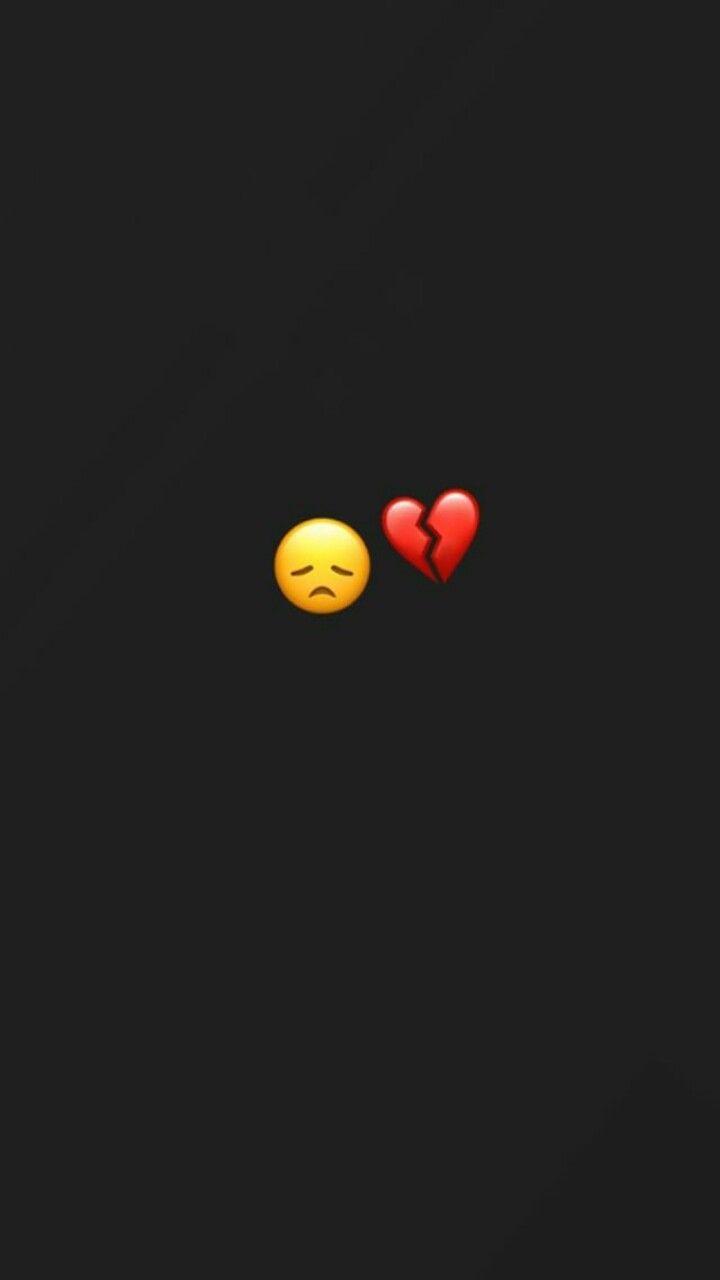Pin Ot Polzovatelya Inszh Na Doske Emoji S Razbitoe Serdce Oboi Dlya Iphone Emodzi