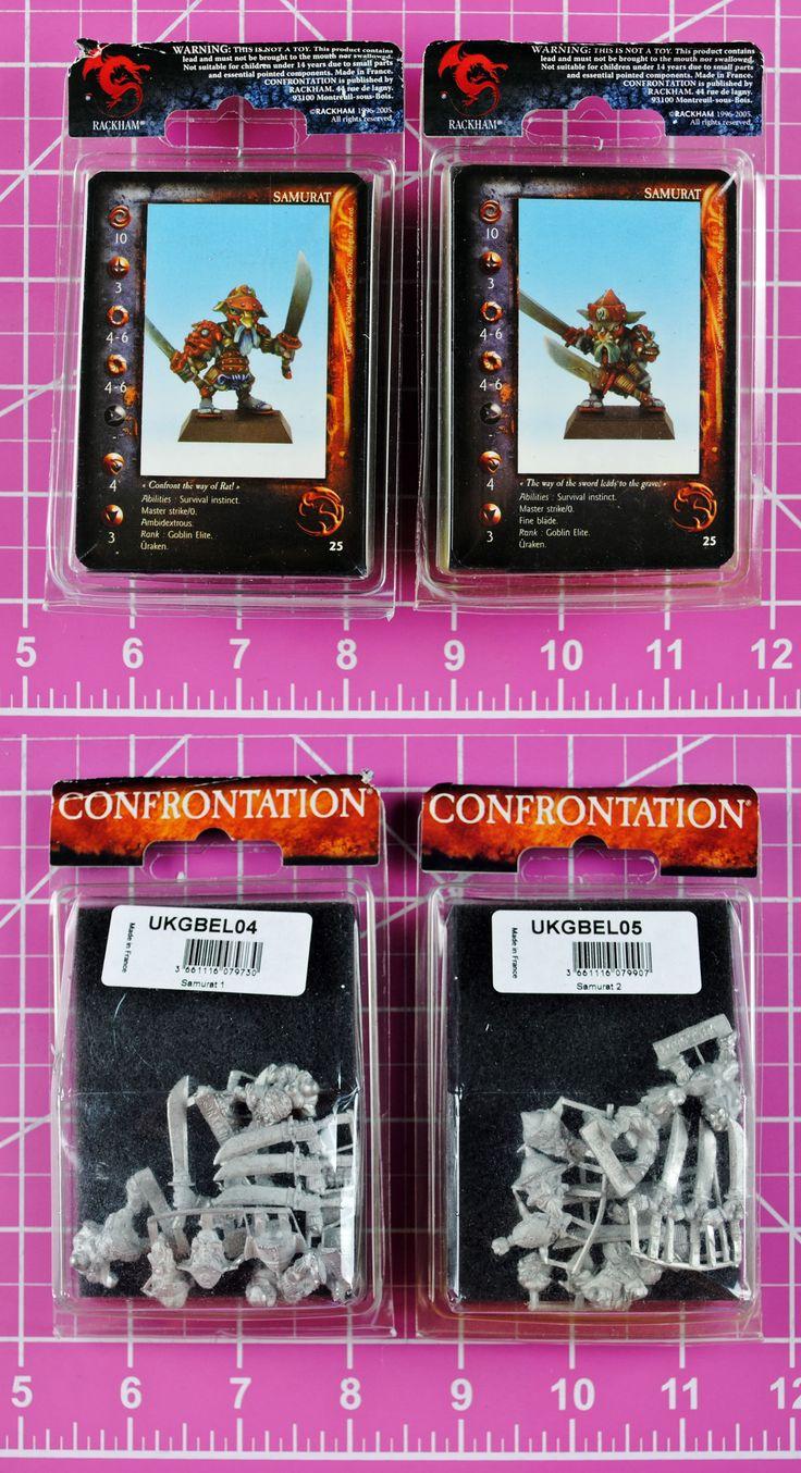 Confrontation 45361: Rackham Confrontation Samurat Goblin (2 Packs!) Rare - Goblins Samurats Samurai -> BUY IT NOW ONLY: $33.95 on eBay!