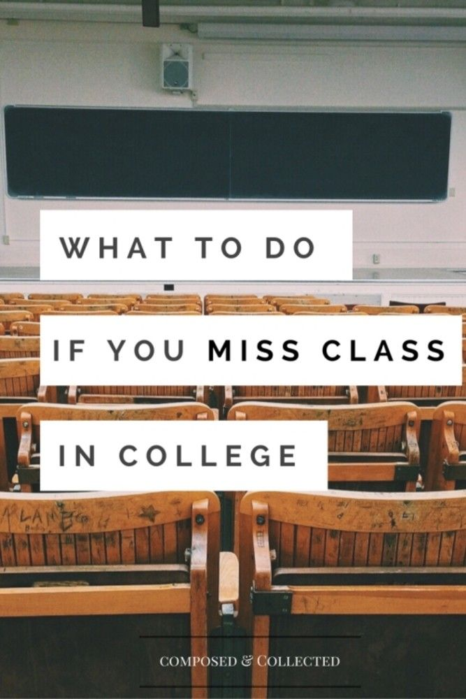 Missing class in college is definitely not the end of the world— It's fine if you had a family emergency or you were really sick. it's more of what you do after being absent from class that really matters. If you go about your day as if nothing happened and expect your professor to come up to you the next class to hand you notes from the lesson you missed, you're playing yourself. It's your responsibility to go above and beyond to try to catch up on whatever you missed. Here's how to go…