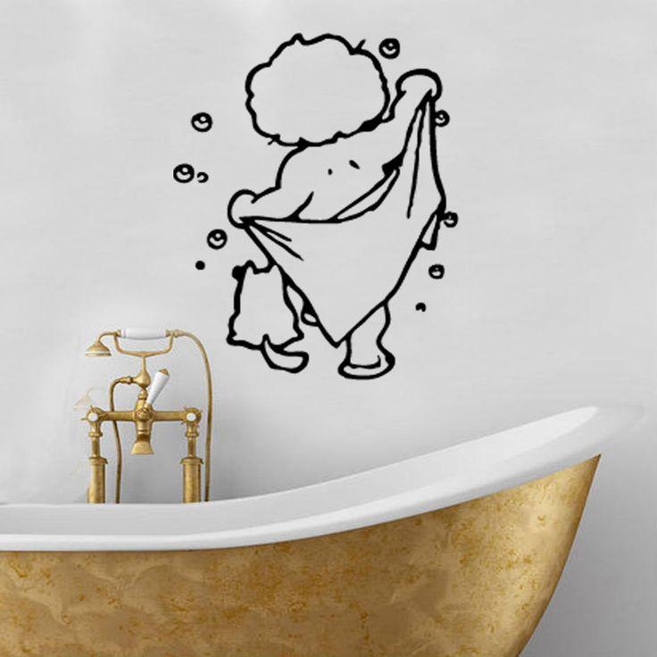 Best Wall Decals Bathroom Images On Pinterest Bathroom