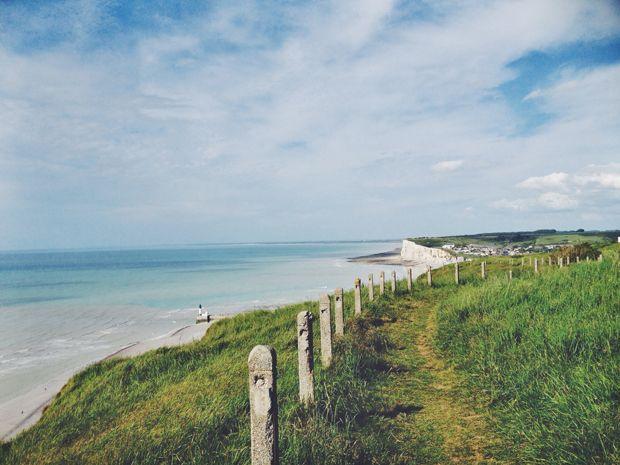 Roadtrip/1- Normandy, Normandie, Le Treport, coast, iloveyoumydear