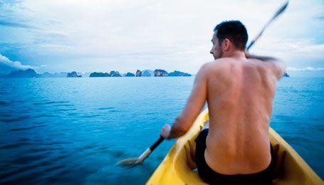 På äventyr i Krabi.