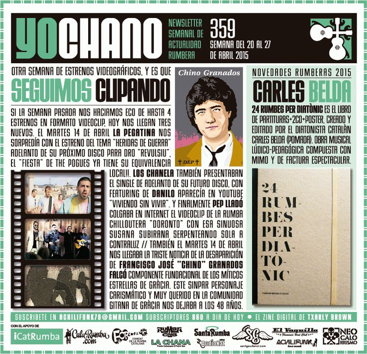 YOCHANO nº359 ~ SANT GAUDENCI Rumba Catalana