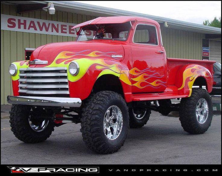 Hot Chevy Truck #landmarkautoinc