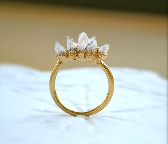 Amethyst ring by Illuminance Jewelry