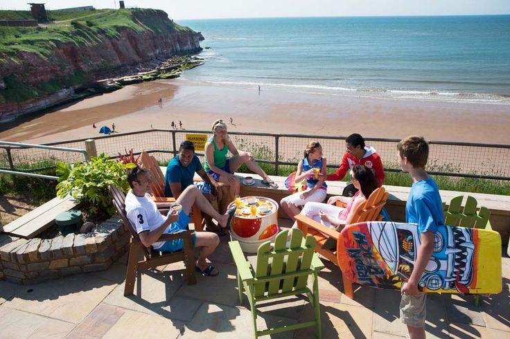 South beach cafe at Devon Cliffs Holiday Park, Devon