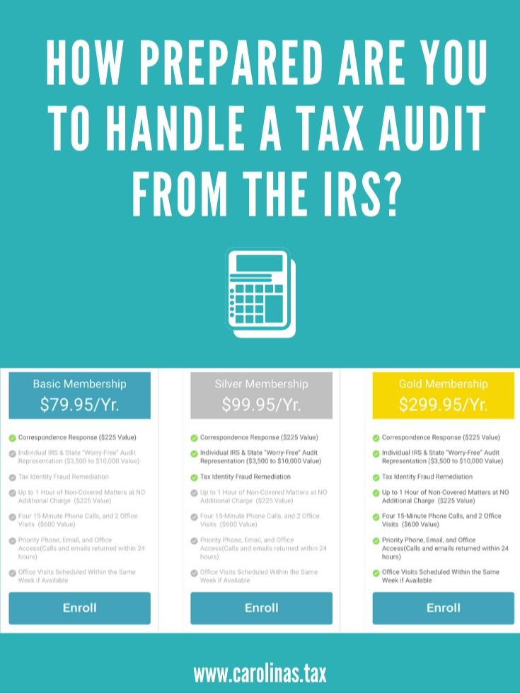 How Prepared Are You To Handle A Tax Audit From The Irs Audit Services Irs Taxes Irs