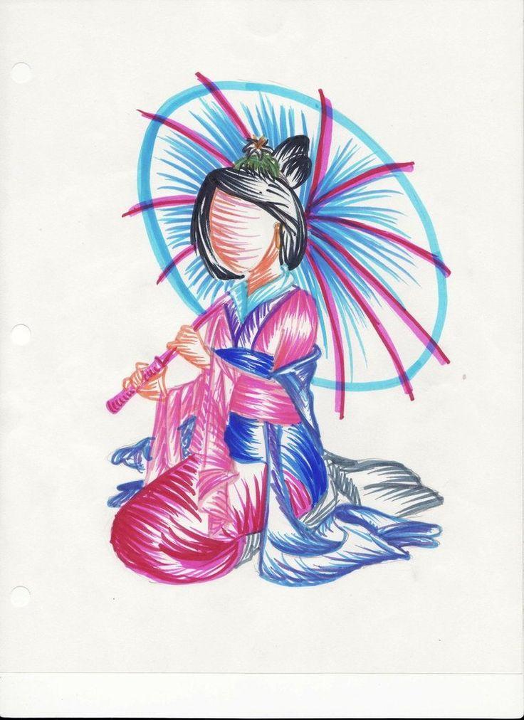 Faceless Beauty: Mulan by cubeofsugar on deviantART