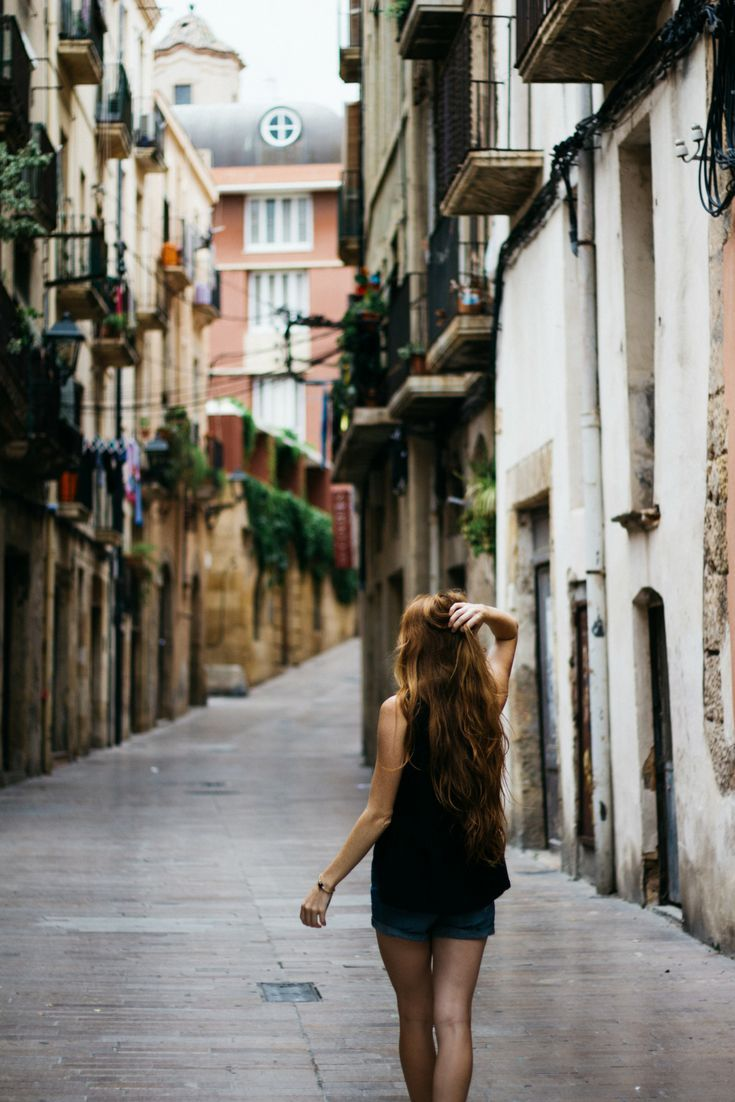 The beautiful streets of Tarragona, Spain. Read about my adventures of traveling with a toddler on my blog.