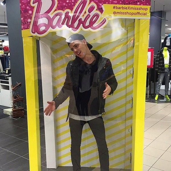 "THOMAS DAVENPORT on Instagram: ""Australia's worst selling Barbie ??"" ❤ liked on Polyvore featuring thomas davenport"