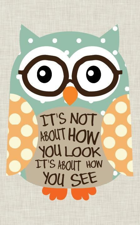 Tween Art Owl art Nerd Owl. Home Decor Inspirational by jmdesign, $20.00