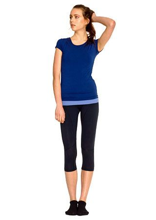 Stop you from overheating leggings & tank heaps better any type of exercising.   <3