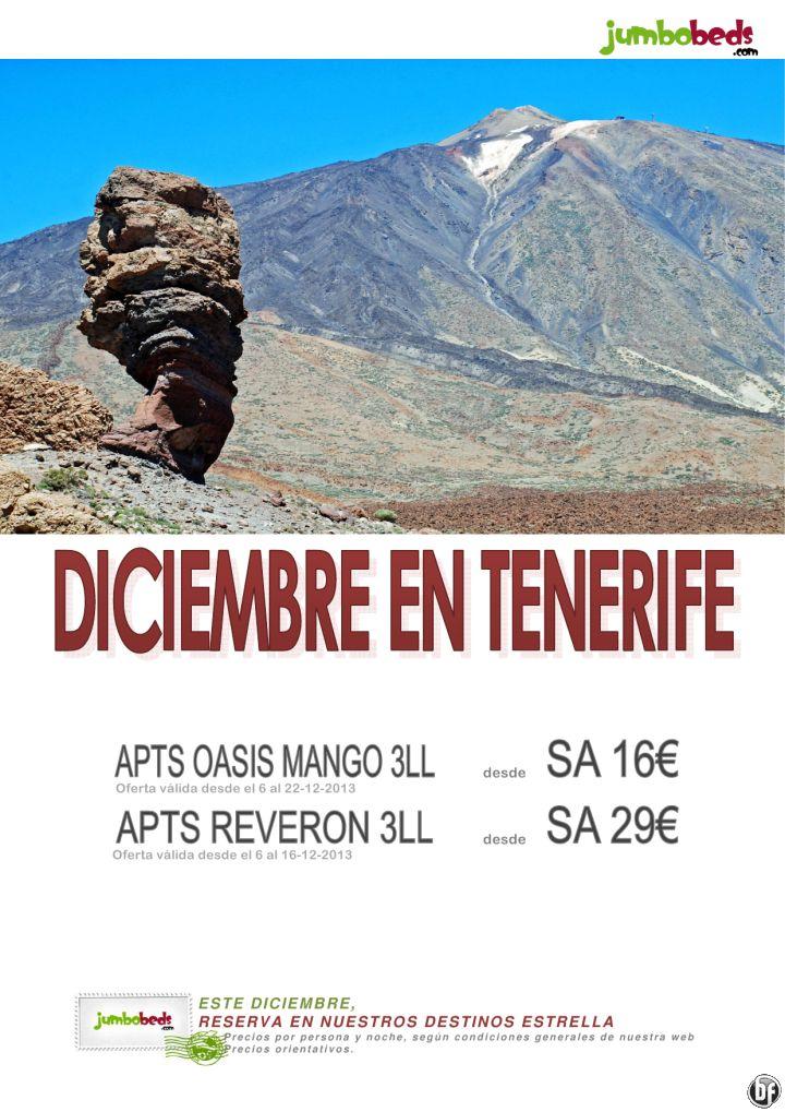 ¡¡¡Diciembre en Tenerife oferta de última hora dsd 16€ pax/día!!! ultimo minuto - http://zocotours.com/diciembre-en-tenerife-oferta-de-ultima-hora-dsd-16e-paxdia-ultimo-minuto/
