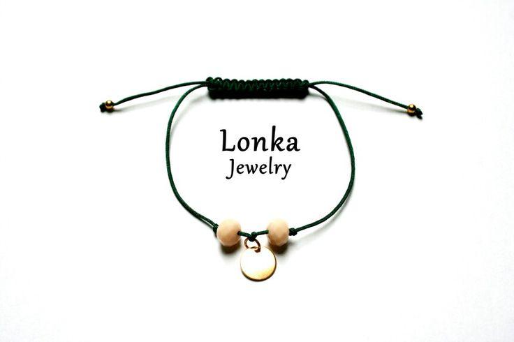 New bracelet from   #green #handmade #bracelet #armcandy #armparty