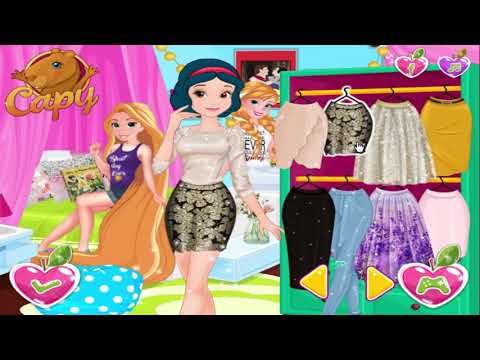 271117 Disney Princess Games Snow White's True Kiss Story