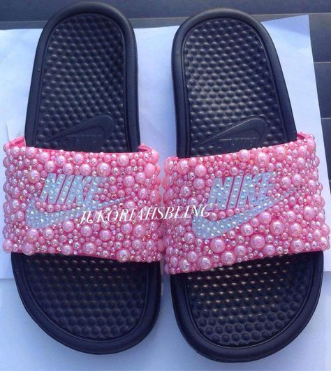 Slides Jukoriahsbling Bling Accessories On Etsy Nike Shoes By wOPZiuTkXl