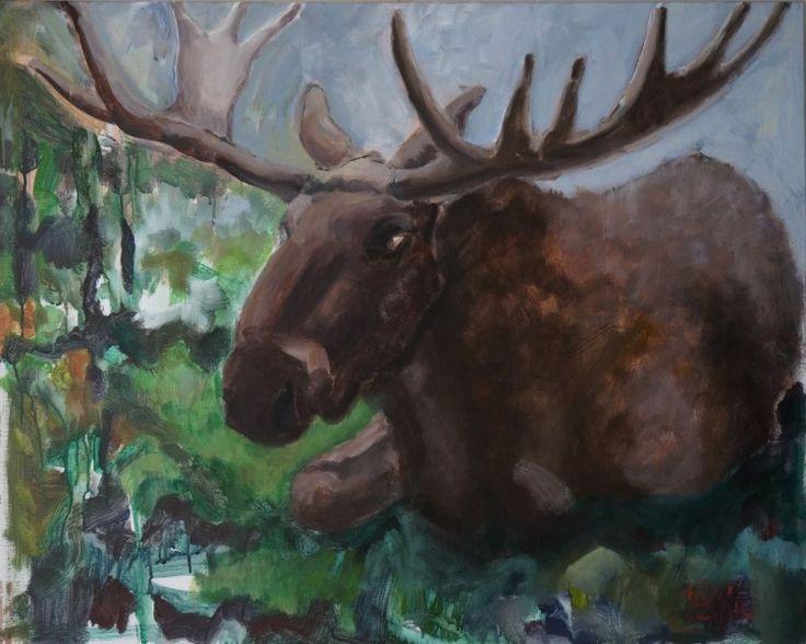 acryl op doek 80x100 cm. 2014