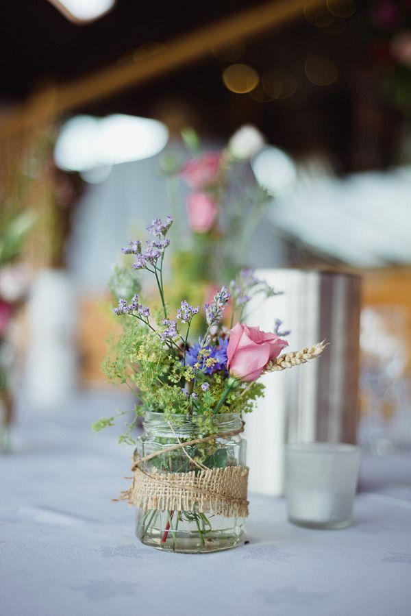 A Juliet Cap Veil and Raimon Bundo Gown For An Elegant English Country Barn Wedding