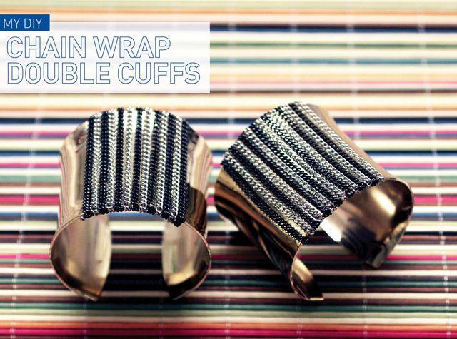 I Spy DIY: [DIY with a Designer] Cuffs with Norma Kamali