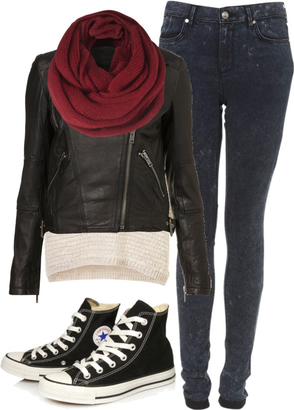 """""""Requested: Casual Winter Outfit"""" by eleanorcalder-lookbook ❤ liked on Polyvore"""