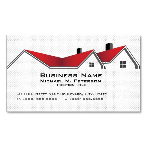 321 best carpenter business cards images on pinterest business real estate business business card reheart Choice Image