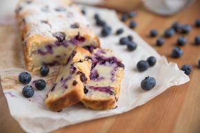 Blaubeer-Bananenbrot ohne Zucker