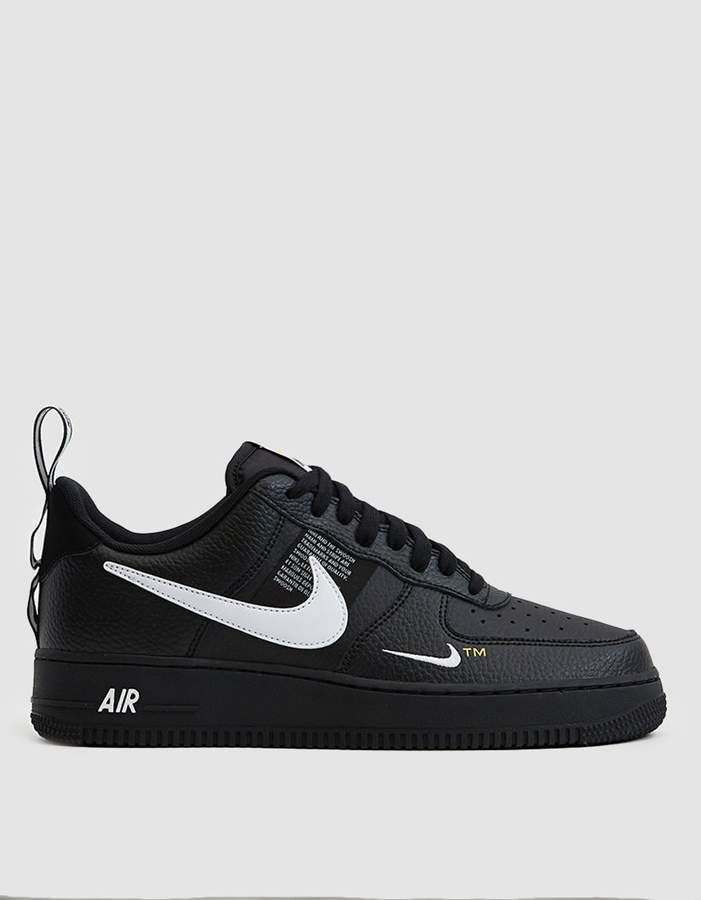 finest selection e418f dc451 Nike Force 1  07 LV8 Utility Sneaker in Black