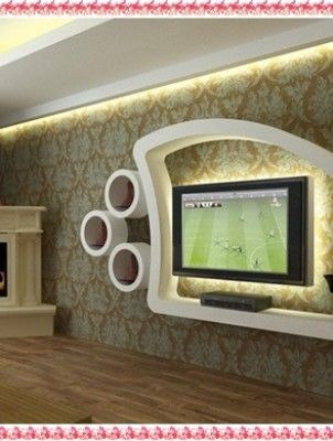 Incredible Drywall Tv-Wall Unit Designs | Idee Casa | Pinterest