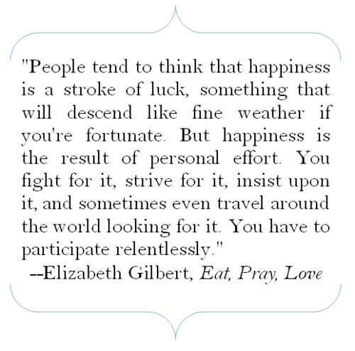 Eat pray love - Click image to find more Quotes Pinterest pins
