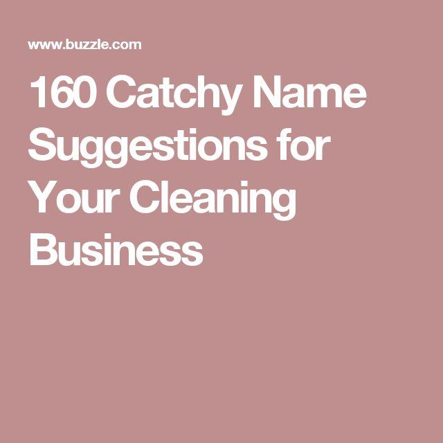 Les 25 Meilleures Idées De La Catégorie Catchy Business Name Ideas