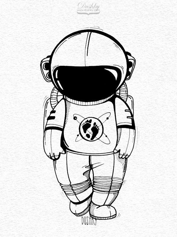 The Martian Sticker illustrations on Tattoos en 2019