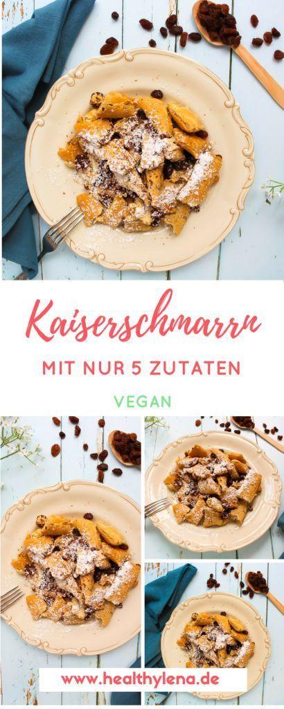 Veganer Kaiserschmarrn – fettarm & glutenfrei