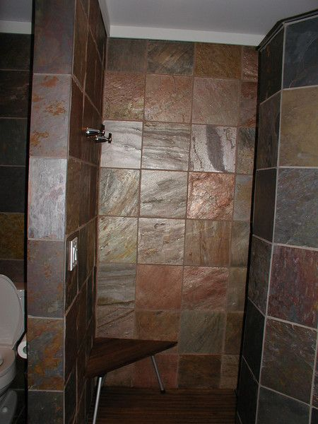 29 Best Images About Love Slate On Pinterest More Best Contemporary Bathrooms Slate Bathroom