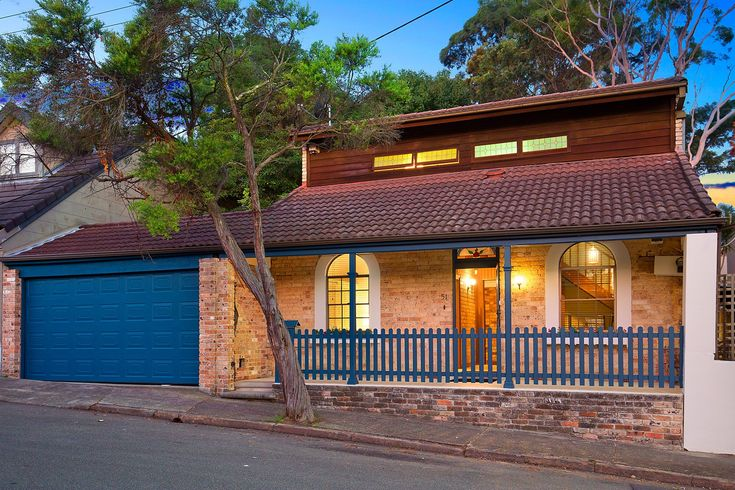 Charming freestanding home, approx. 448sqm, freestanding brick home, central location, dusk photography, Pilcher Residential