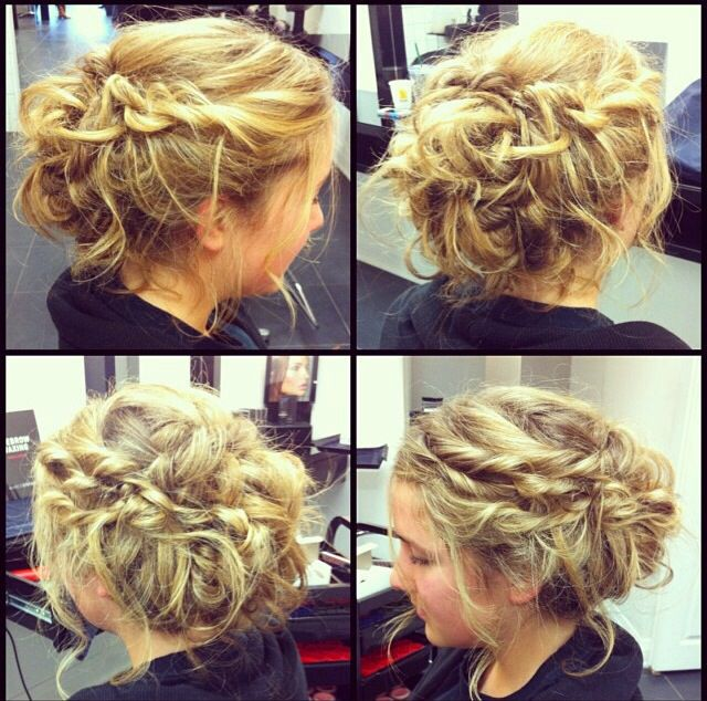 Formal/casual updo