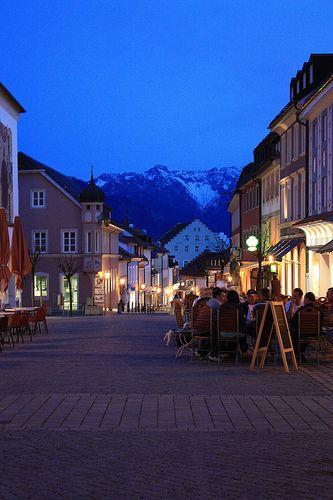 village of Garmisch, Germany