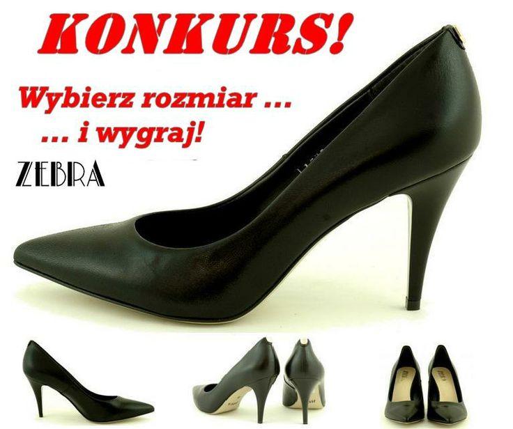 Łatwy i szybki konkurs na naszym fanpage! Zapraszamy! :D https://www.facebook.com/zebra.buty/posts/660696757310307