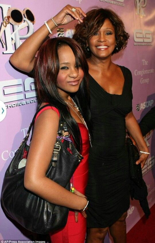 R.I.P Bobbi Christina.  Such a sad story.   She is with her mother now.  Their families are definitely in my prays.  #BobbiKristina