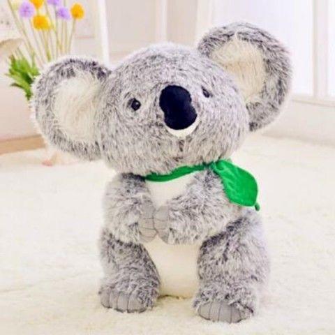 Jouets en peluche Koala australiens pour enfants oreillers décoratifs en 3D 3D